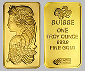 Pamp Suisse Gold Bullion Bar 1 OZ