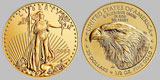 American $25 Gold Eagle 1/2 OZ