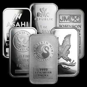 Varied Brands Silver Eagle Bullion Bar 1 OZ Obverse