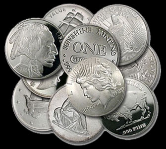 Varied Brands Silver Rounds 1 OZ