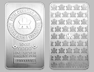 Royal Canadian Mint Silver Bullion Bar 10 OZ